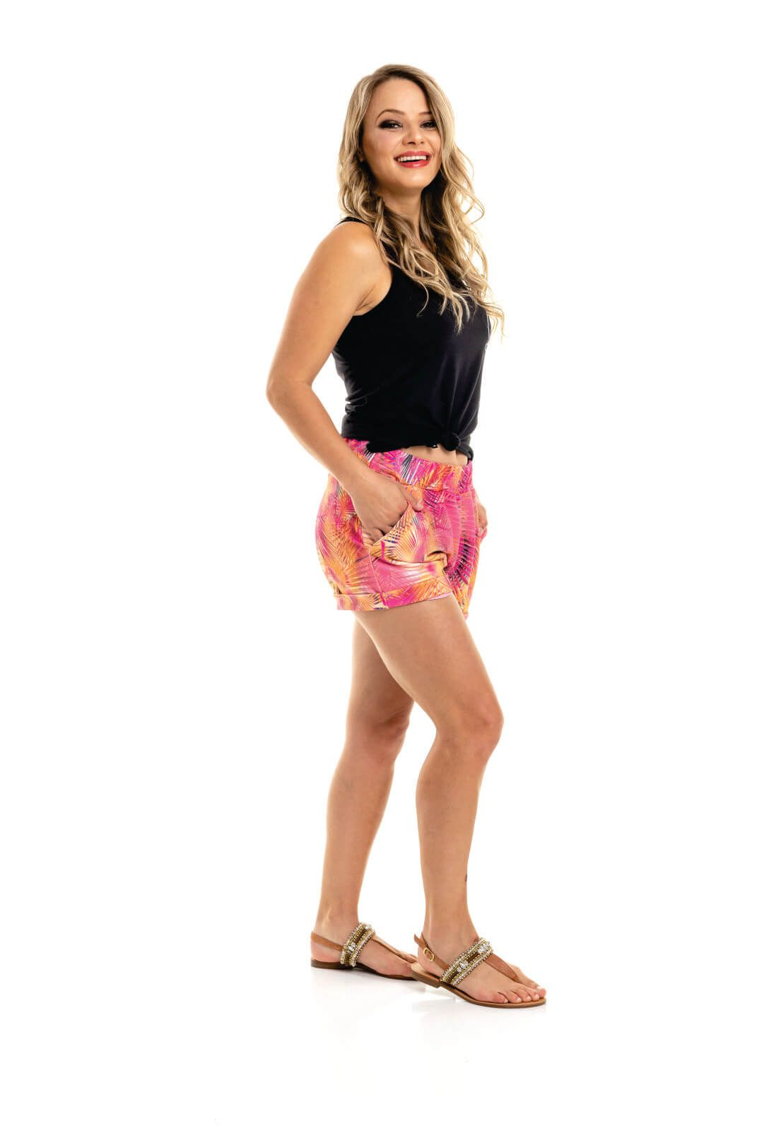 Short Nogah Summer Multicolorido