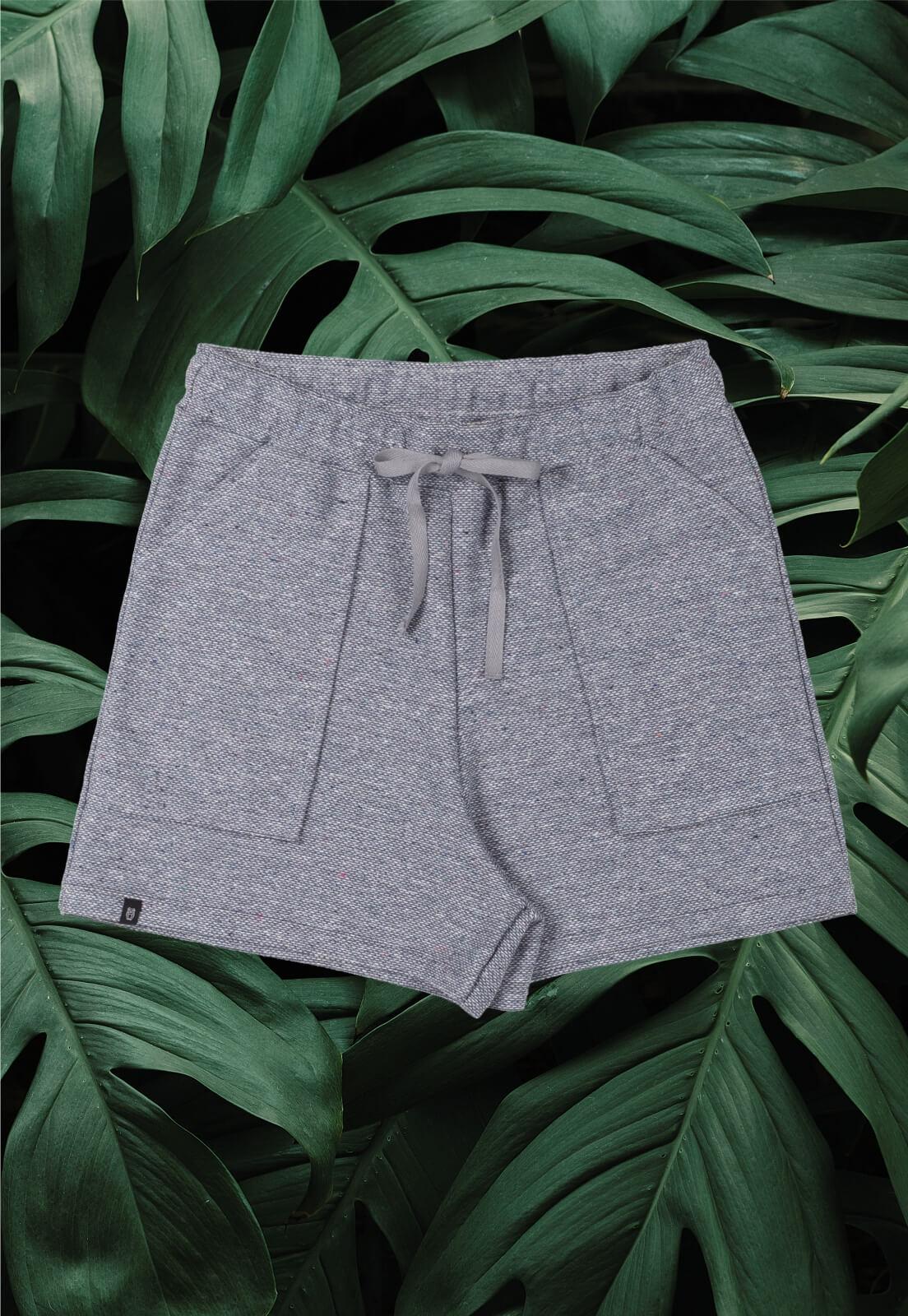 Shorts Nogah Cinza