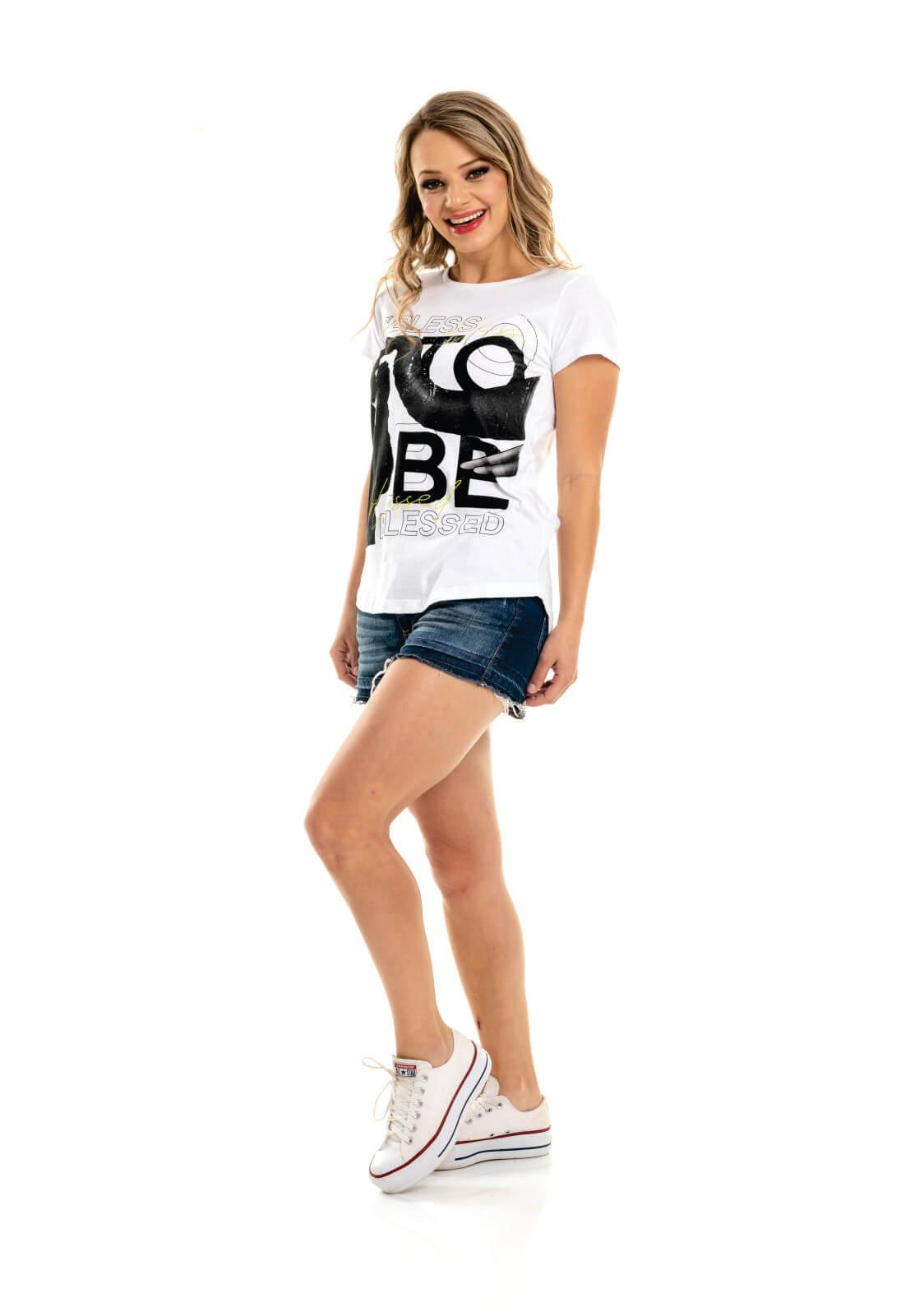T-shirt Nogah Blessed
