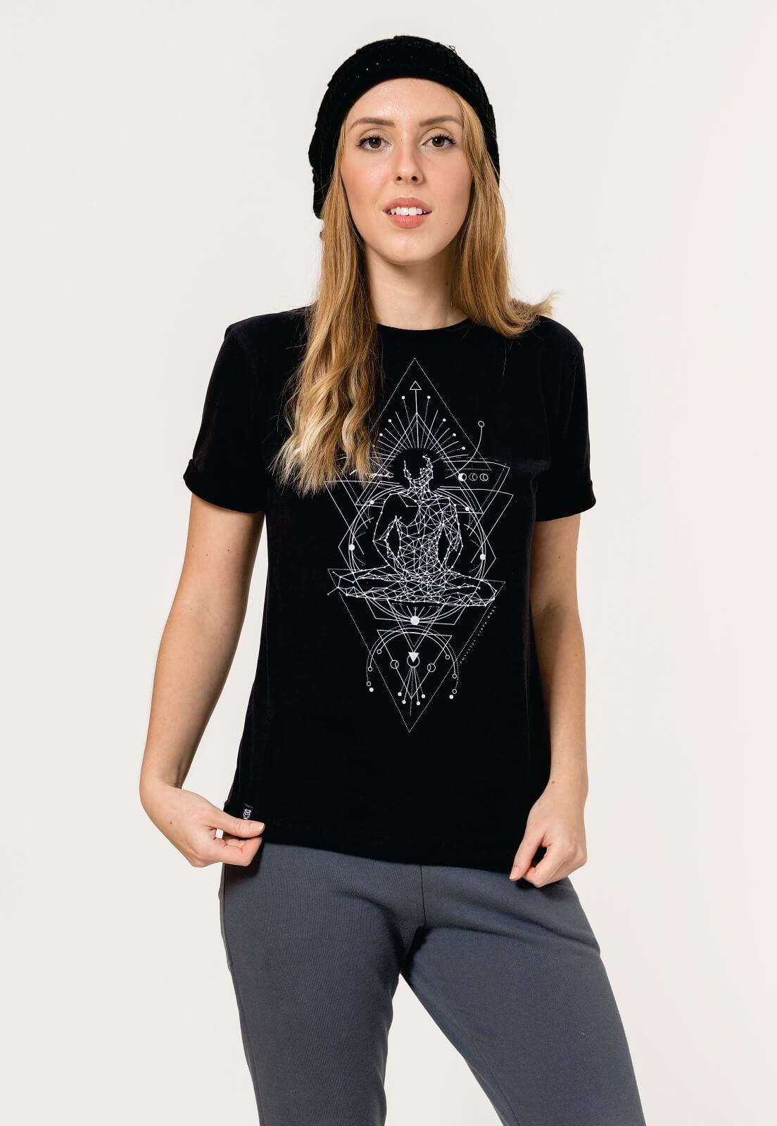 T-shirt Nogah Chakras Preto