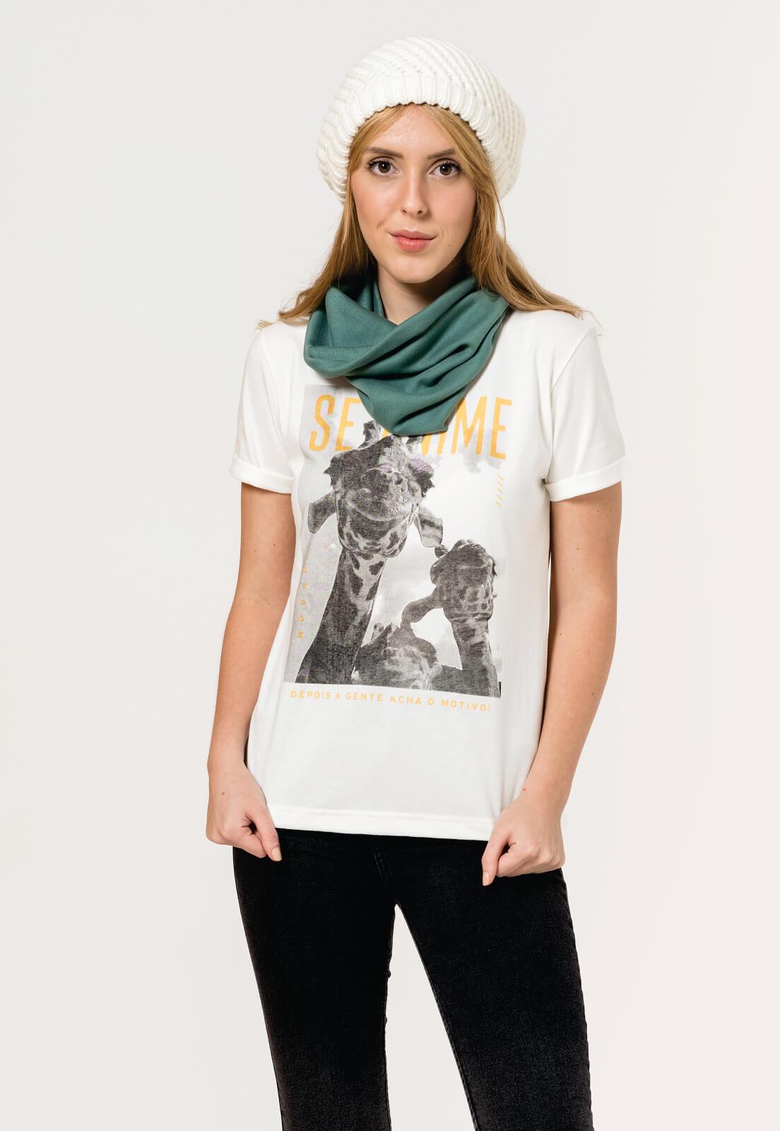 T-shirt Nogah Girafa Crua
