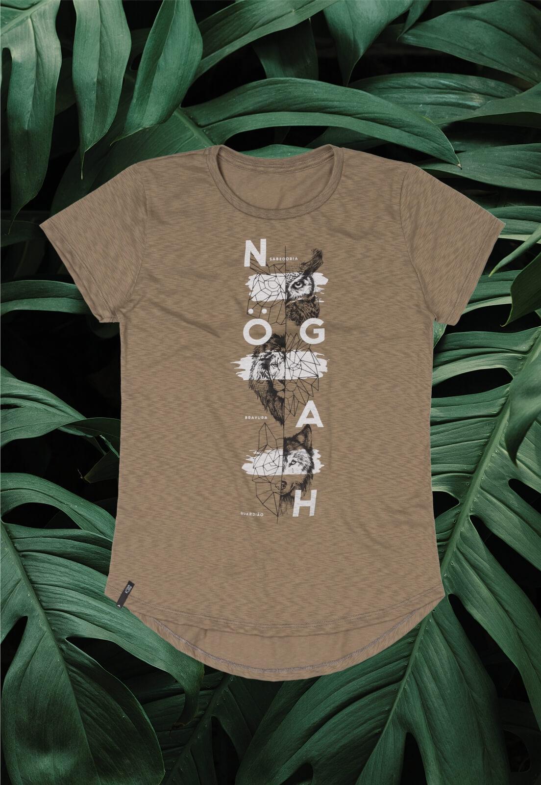 T-shirt Nogah Guardião Caqui
