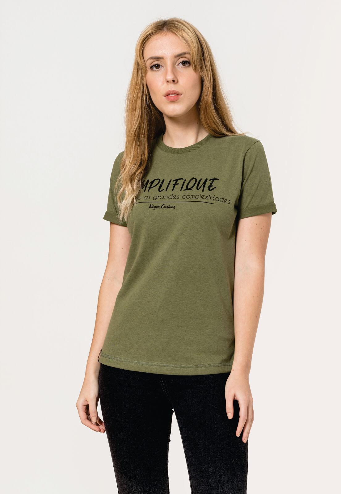 T-shirt Nogah Simplifique Verde