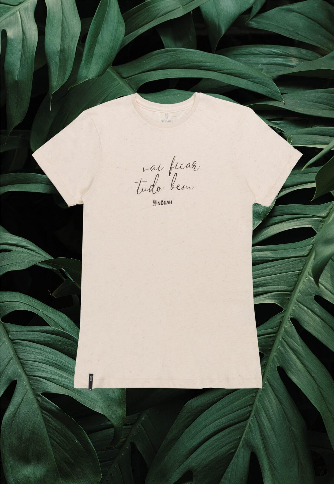 T-shirt Nogah Vai Ficar Tudo Bem