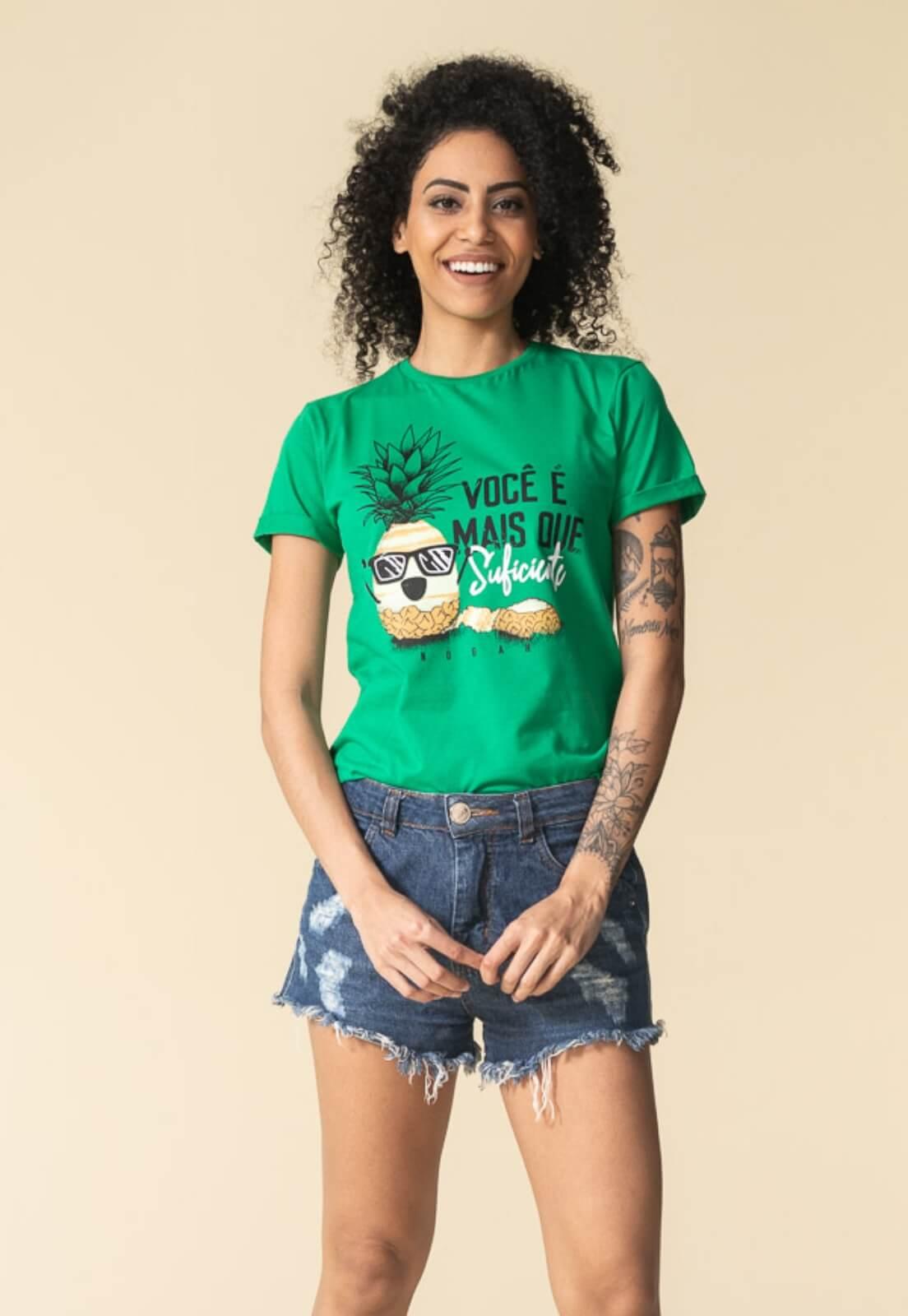 T-shirt Nogah Você é Mais Verde
