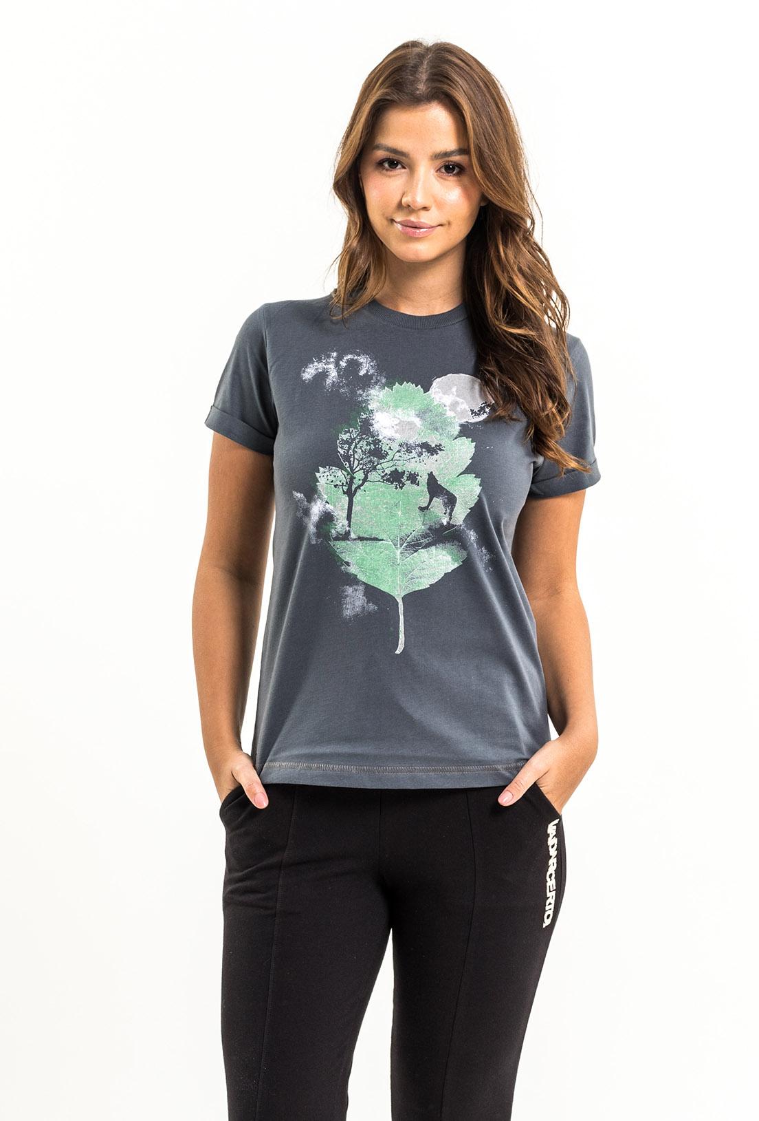 T-shirt Nogah Winter Leaf Chumbo