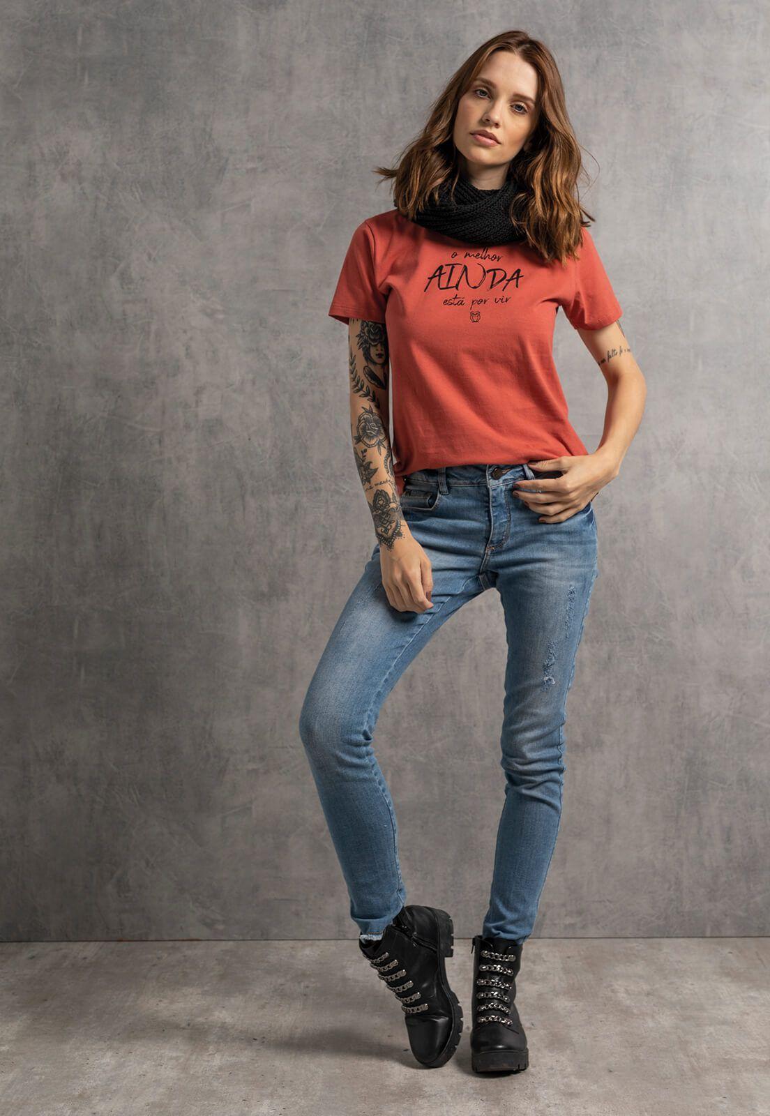 T-shirt Nogah O Melhor Ainda Está Por Vir