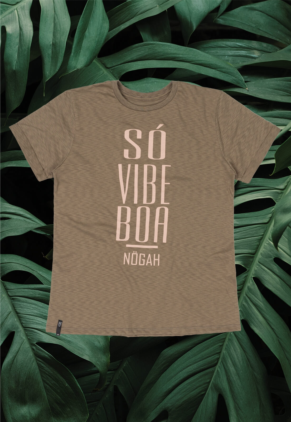 T-shirt Nogah Só Vibe Boa
