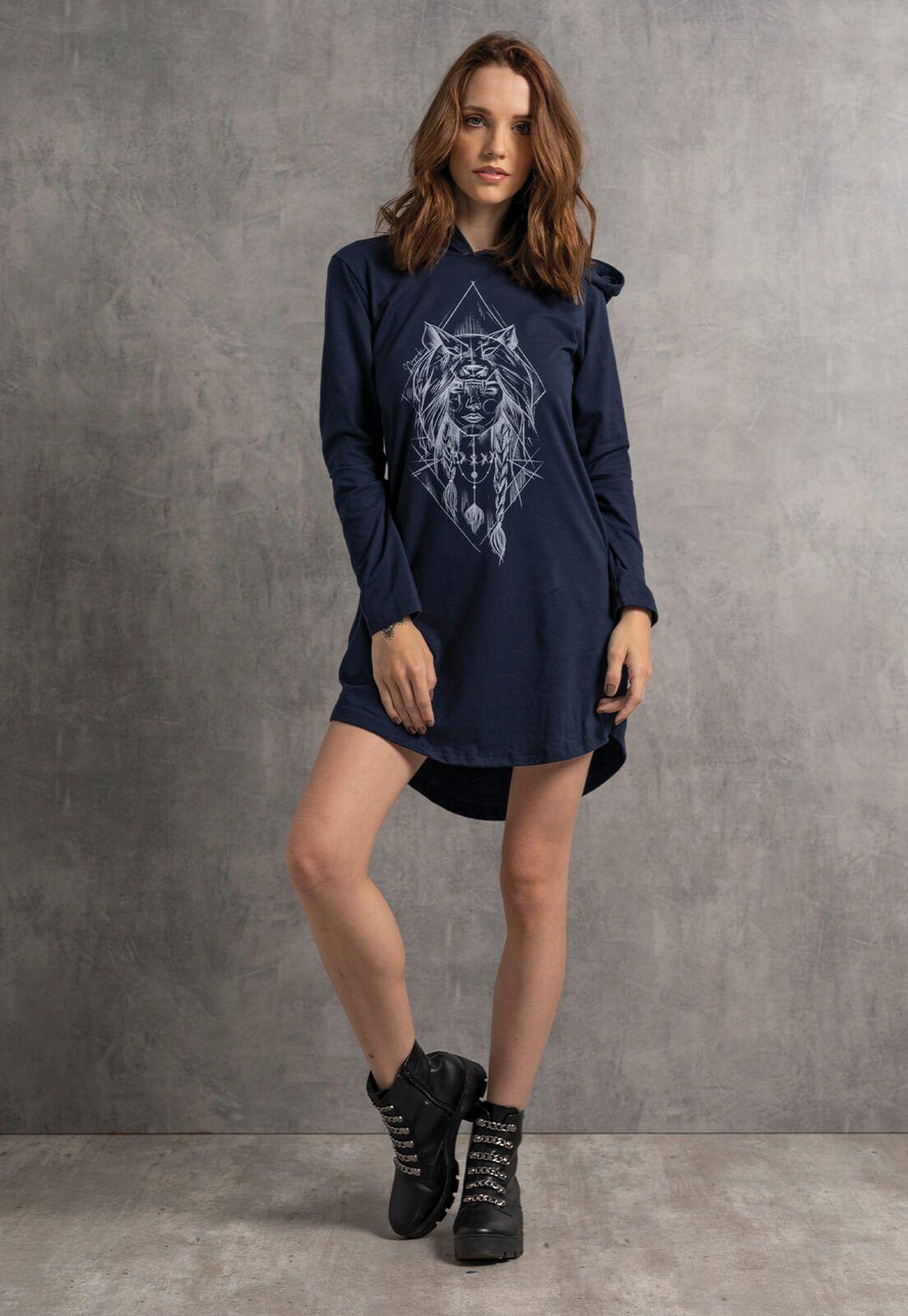 T-dress Nogah Girlwolf Marinho