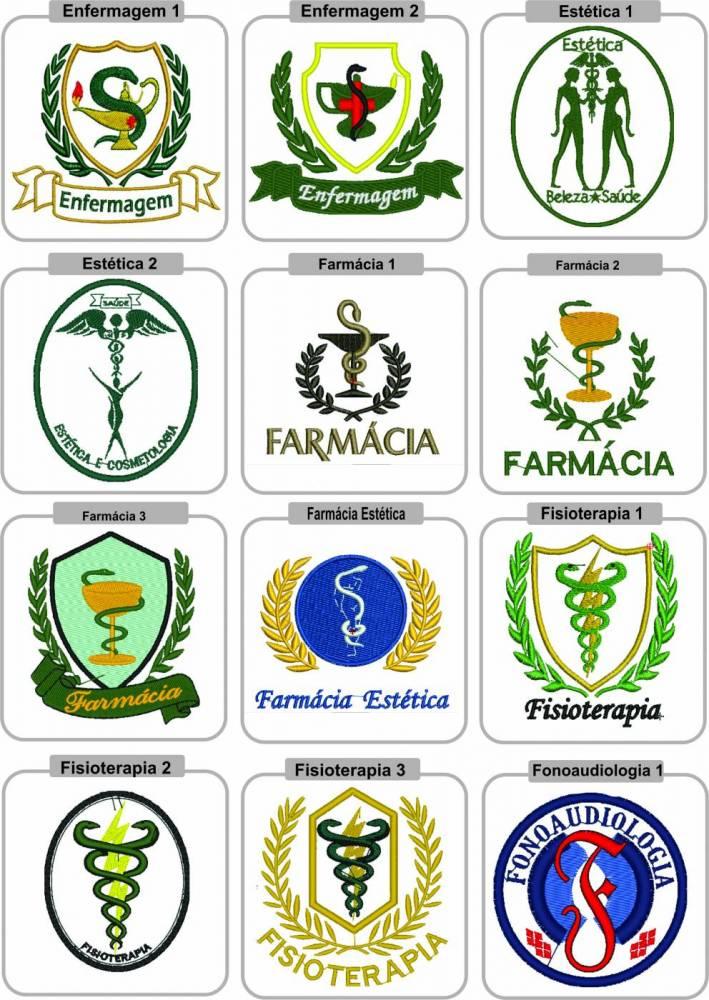 Bordado do Símbolo Profissional - SOMENTE VINCULADO A COMPRA DE UM PRODUTO.