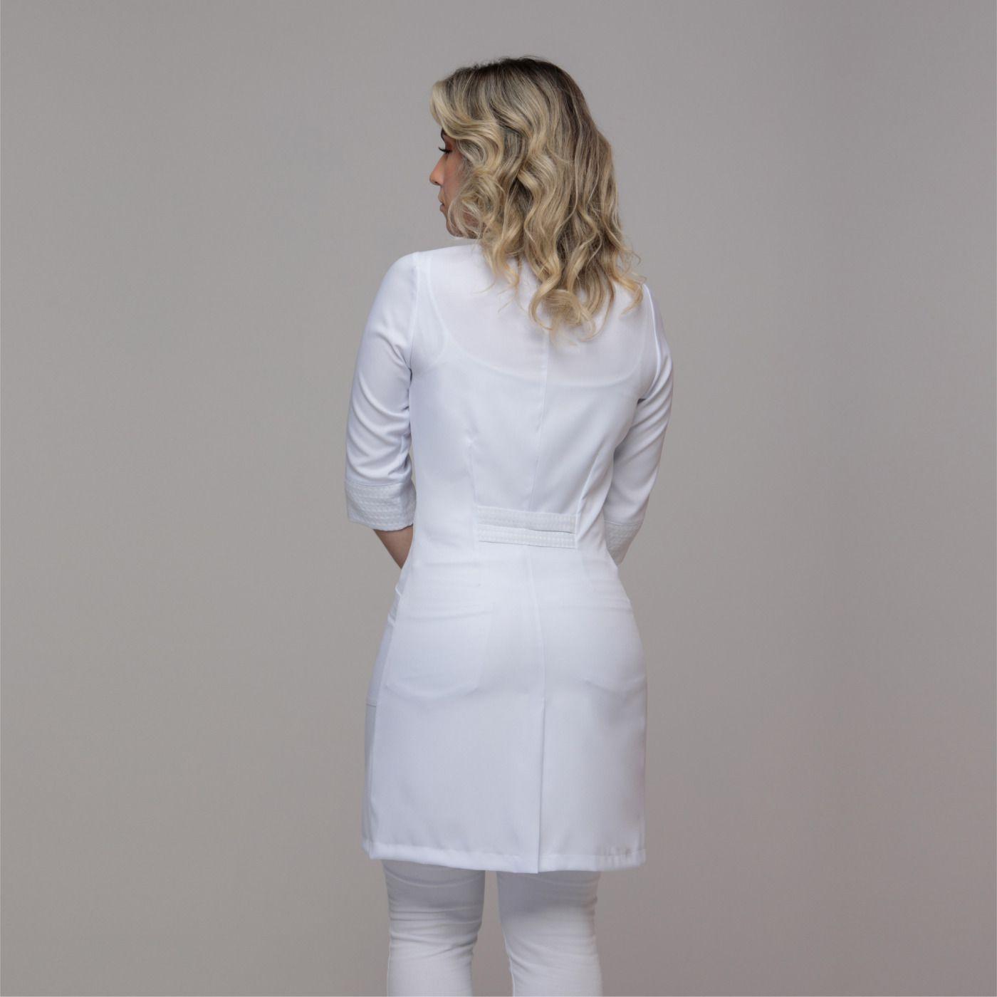 Jaleco Feminino Gola Esporte Textura