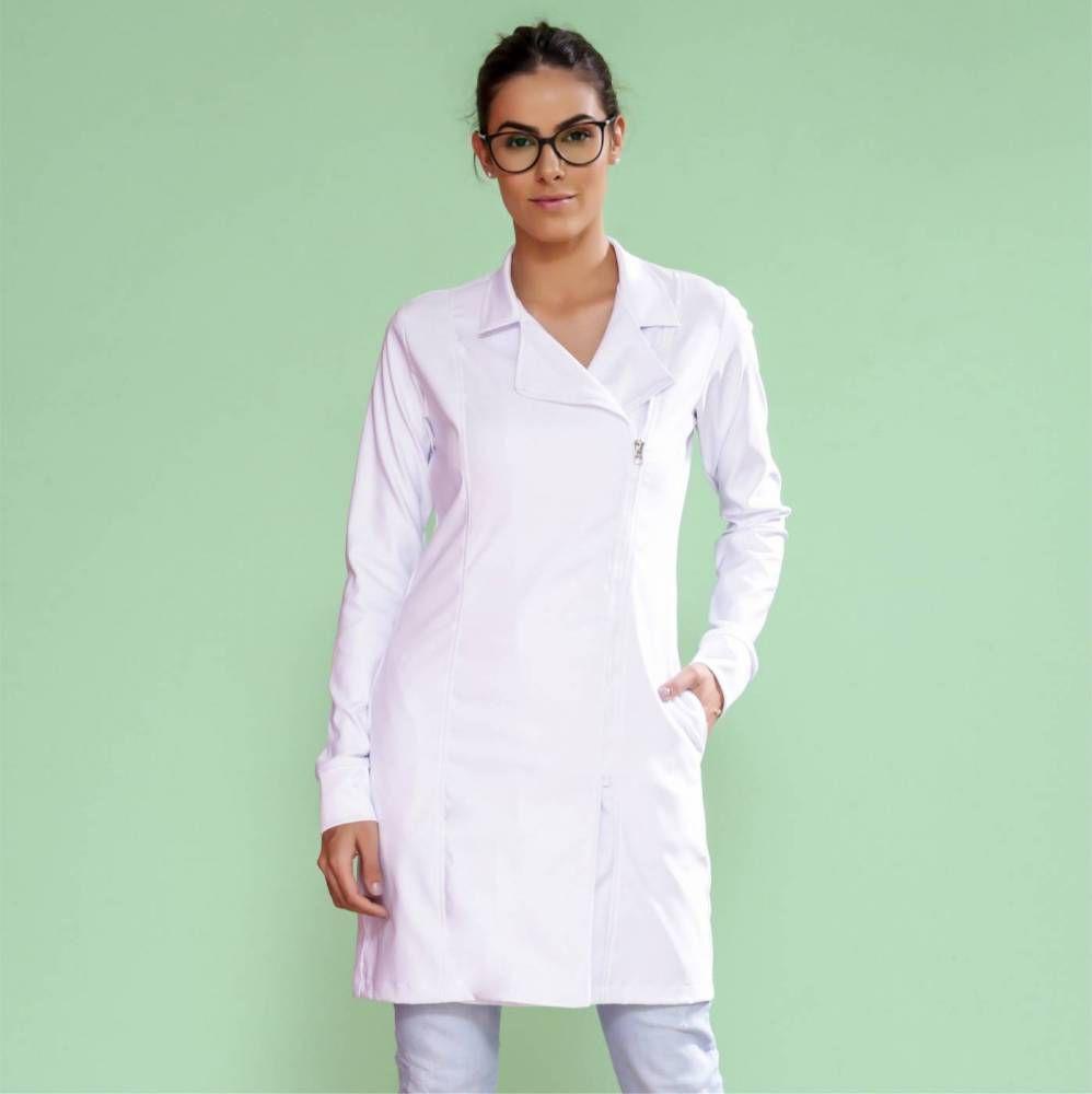 Jaleco feminino Trend Ziper Premium
