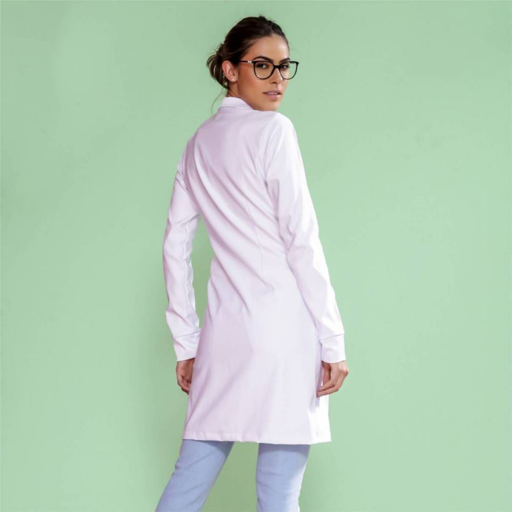 Jaleco feminino Trend Zíper Premium