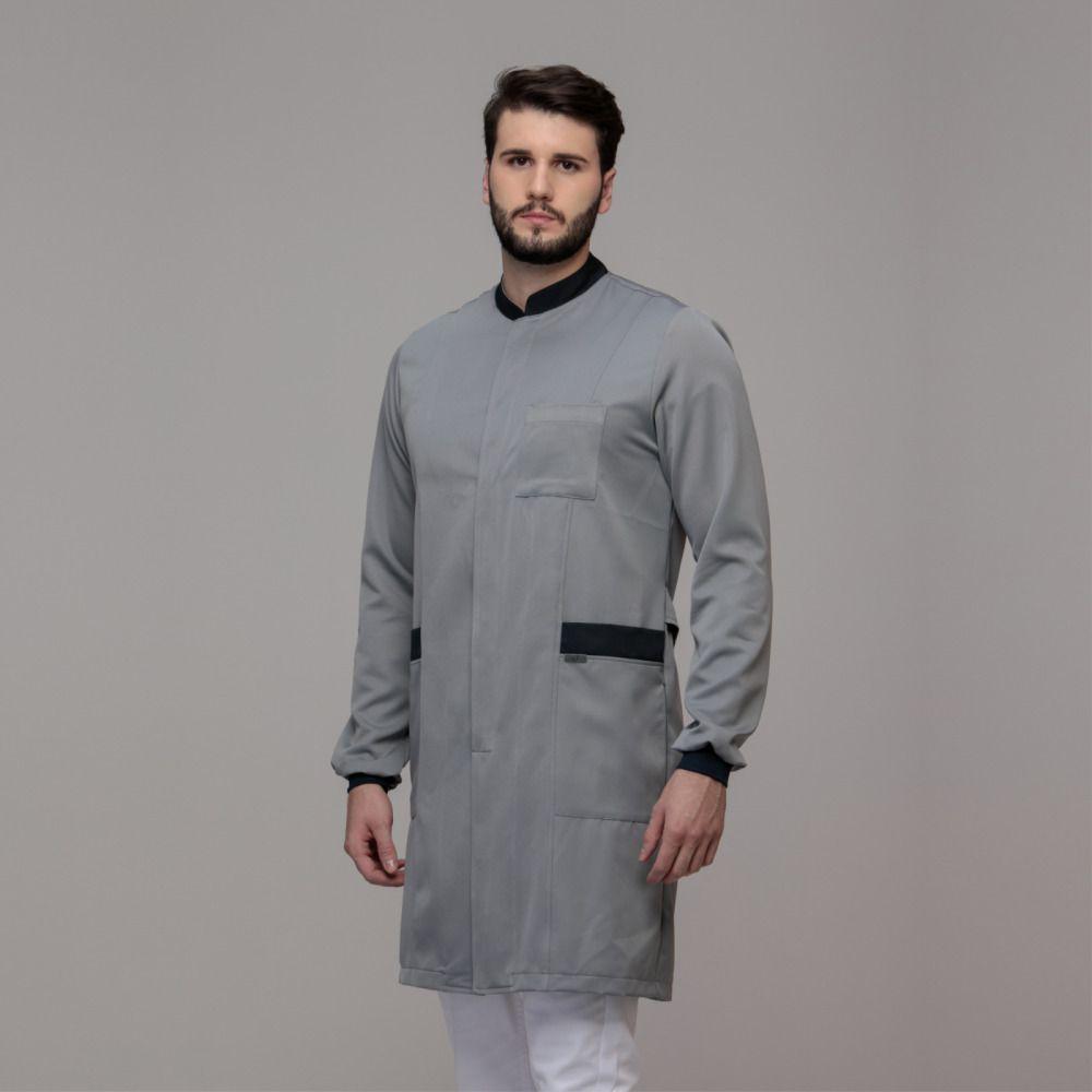 Jaleco Masculino Gola Padre Fashion Premium