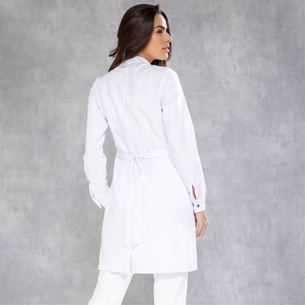 Jaleco new white