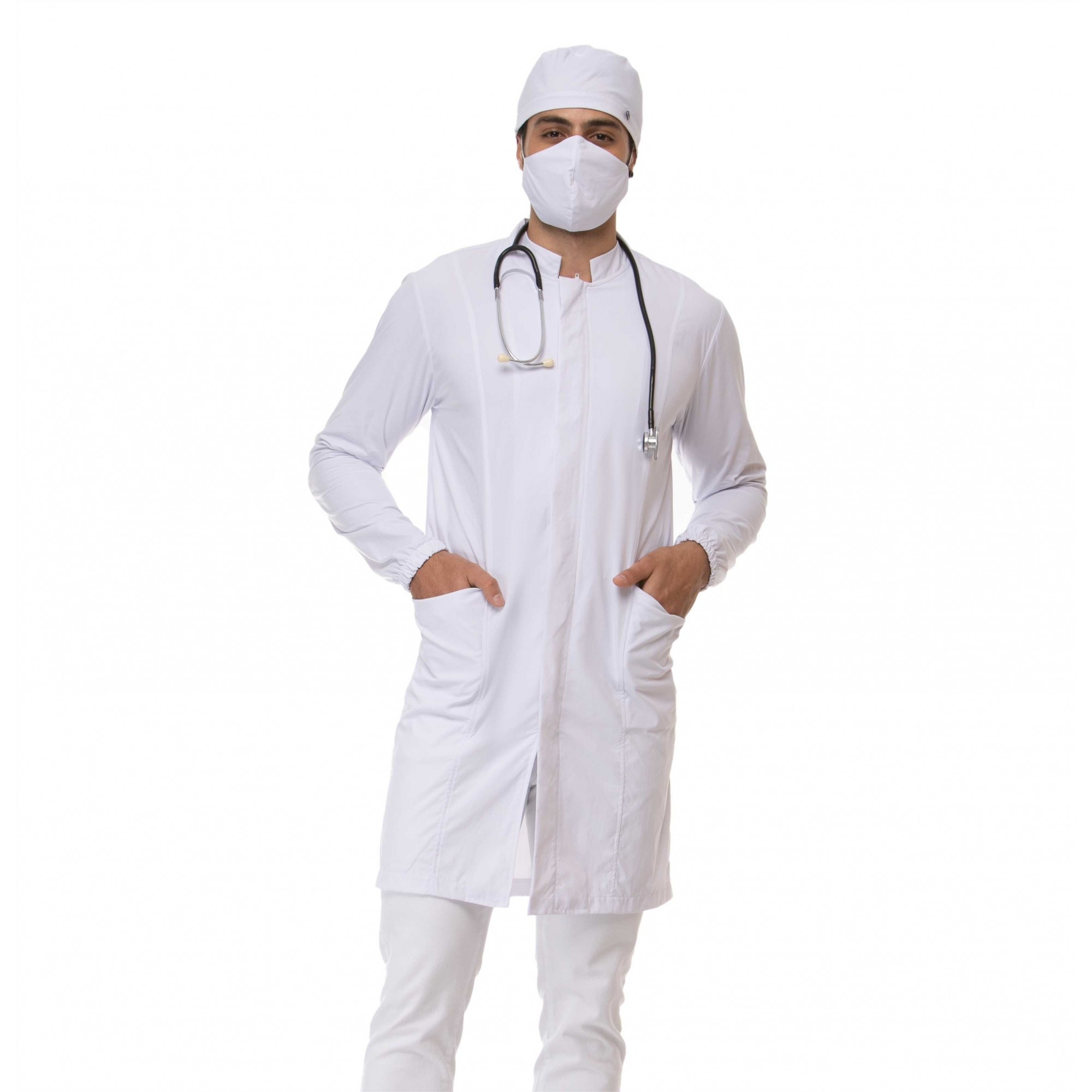 Jaleco Protect Antiviral Masculino