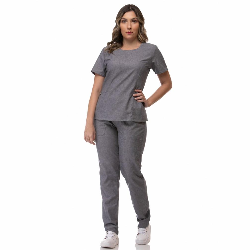 Scrub Feminino Jeans New
