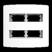 Alumbra Bianco Pró Placa 4x4 2 Seções + 2 Seções