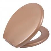 Assento Sanitário Almofadado Bronze BRO