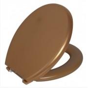Assento Sanitário Almofadado Ouro