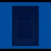 Evidence 3 Seções de Interruptor Simples Com Placa