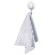 Future Gancho Plástico Branco Com Ventosa 404BC