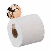 Future Papeleira Rose Gold Aço Carbono Com Ventosa 4055RG