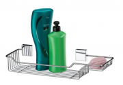 Future Suporte para Shampoo em Aço Inox com Kit Fixação 7501