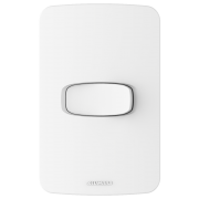 Gracia 1 Seção de Interruptor Simples Com Placa