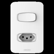 Gracia Interruptor 1s   Tomada C/Placa
