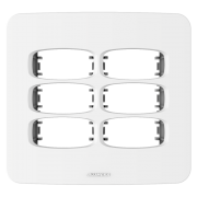 Gracia Placa 4x4 3 Seções + 3 Seções
