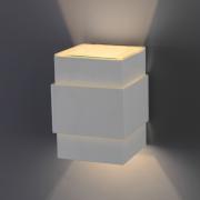 Ideal Arandela Branca em Alumínio Cinta Lisa G9 989TV