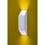 Ideal Arandela Branca Microtexturizada Alumínio 2 x GU10 112