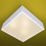 Ideal Plafon Quadrado em Alumínio 665 para 3 Lampadas E-27