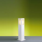Ideal Poste Branco Quadrado Alumínio 50cm 1 X E-27 PA-150