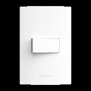 Inova Pró 1 Seção de Interruptor Simples Com Placa