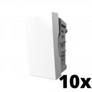 Kit 10 und Inova Pró Módulo de Interruptor Simples