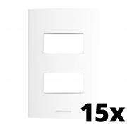 Kit 15 und Inova Pró Placa 4x2 2 Seções