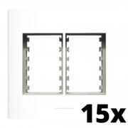 Kit 15 und Inova Pró Placa 4x4 3 Seções + 3 Seções