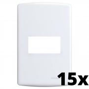 Kit 15 und Siena Placa 4x2 1 Seção