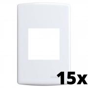 Kit 15 und Siena Placa 4x2 2 Seções