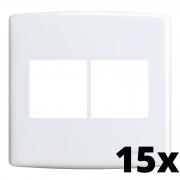 Kit 15 und Siena Placa 4x4 2 Seções + 2 Seções