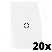 Kit 20 und Inova Pró Placa 4x2 Com Furo