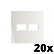 Kit 20 und Inova Pró Placa 4x4 1 Seção + 1 Seção