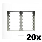 Kit 20 und Inova Pró Placa 4x4 3 Seções + 3 Seções