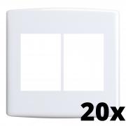 Kit 20 und Siena Placa 4x4 3 Seções + 3 Seções