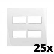 Kit 25 und Inova Pró Placa 4x4 2 Seções + 2 Seções
