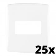 Kit 25 und Siena Fácil Placa 4x2 1 Seção