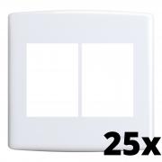 Kit 25 und Siena Placa 4x4 3 Seções + 3 Seções