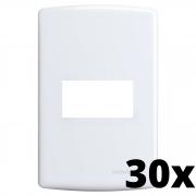 Kit 30 und Siena Placa 4x2 1 Seção